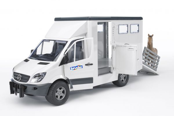 Mercedes Sprinter do przewozu koni  - 02533 - BRUDER 4