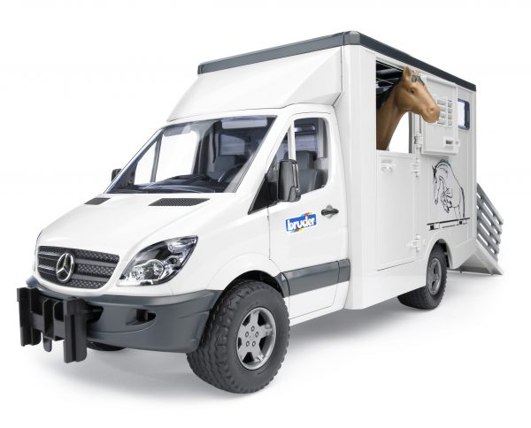 Mercedes Sprinter do przewozu koni  - 02533 - BRUDER 1